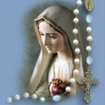 God Mother Mary with Rosary Pictures