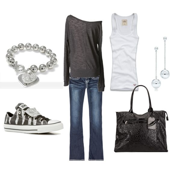 Casual, created by andrea-mitsdarffer-garner.polyvore.com