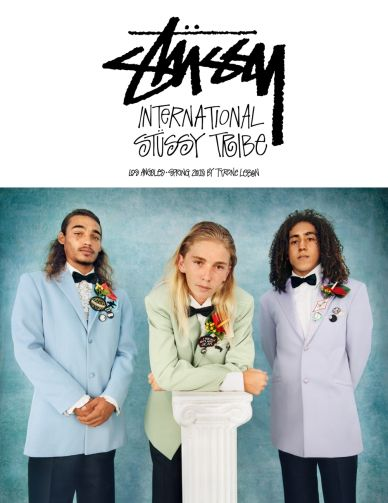 MAP - News – Tyrone Lebon Shoots Stüssy SS15 Campaign Featuring Design Direction by Dean Langley
