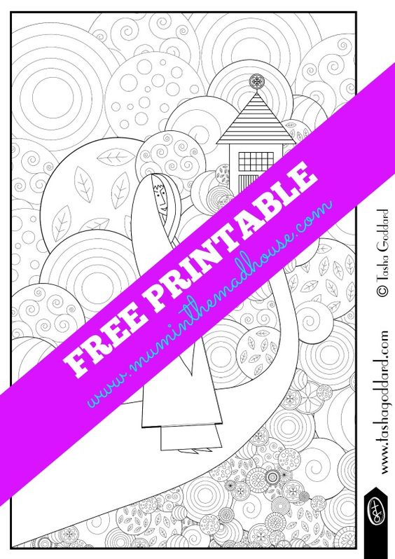 Free colouring pages for adults   Colorante, Caperucita roja y Adult ...