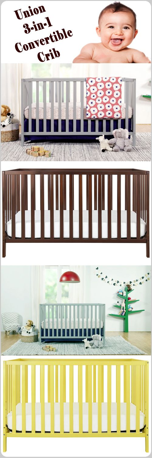 Union 3-in-1 Convertible Crib meets ASTM international and U.S. CPSC safety standards. It also a sturdy and affordable #crib. To know full information just check out at http://thebabywiki.com/