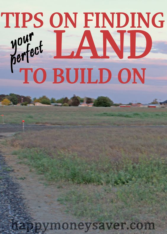 Awesome tips on buying land. Things you might never think of and expenses that you must consider before buying. Also many tips on how to find the perfect land for you in your budget.