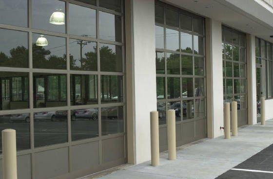 Commercial Glass Full View Door Repair, Garage Door Opener Repair Rochester Mn
