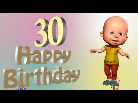 Ein Lustiges Geburtstags Video 30 Jahre Happy Birthday To You