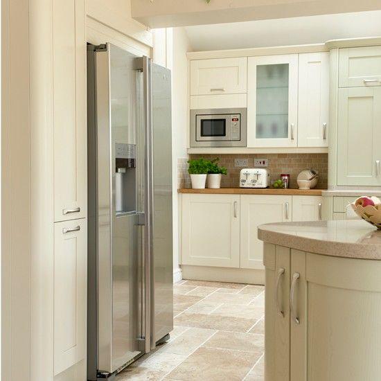 Küchen Küchenideen Küchengeräte Wohnideen Möbel Dekoration Decoration Living Idea Interiors home kitchen - Traditionelle Küche Sahne und Salbei
