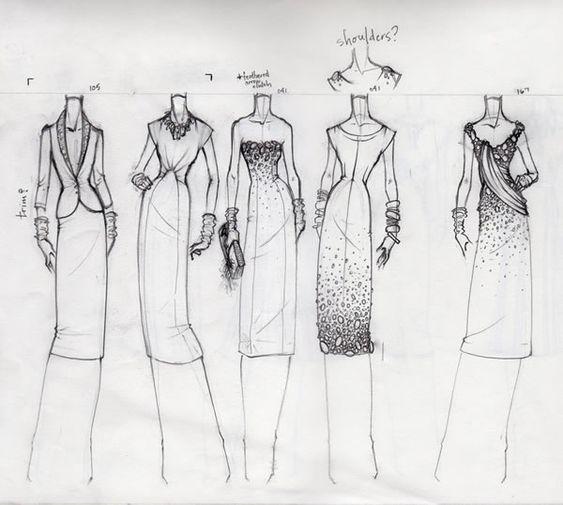 55 Inspiring Fashion Sketches Illustrations Abduzeedo