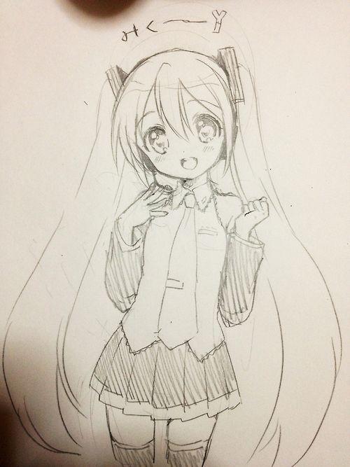 Miku Hatsune Hatsune Miku Desenho De Anime Desenhos De Anime Desenhos Kawaii