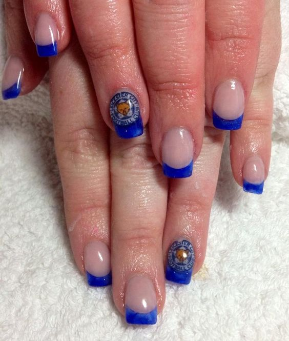 Leicester City Nails - Blue Army
