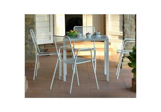 Stühle & Bänke | Isa Armlehnstuhl – weiß | avandeo Möbel-Online-Shop