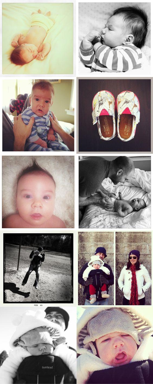 Finn's third month • iphoneography • Finnstagram • Instagram • annhennessyphotography