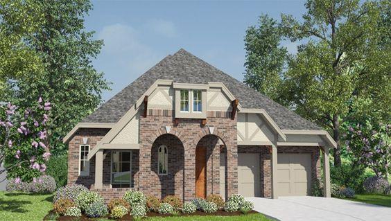 Linden - Plan 2163 Vista exterios Casa familiar Precio desde:  $313,990 2,163 square feet 3 Hab., 2 baños, 1 planta  para más información contáctanos +1 (832)-630-5251.