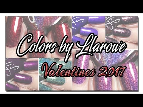 CbL Valentine's 2017 Collection. YouTube Live Swatches - Sassy Shelly  (MissShelly129)