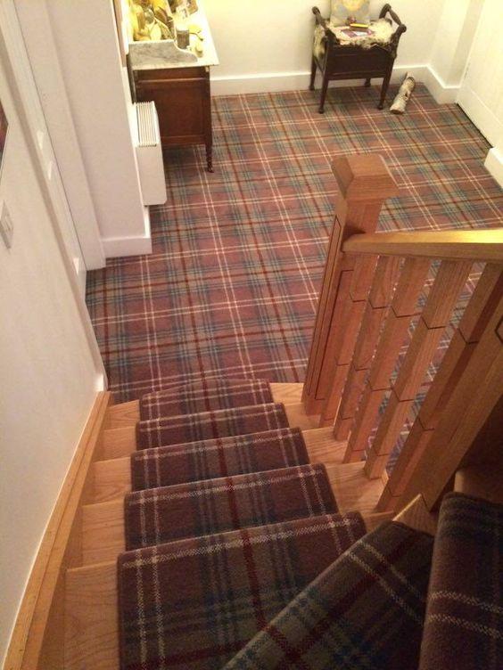 Best Ulster Carpets Glenmoy Beige Chisholm Hallway 400 x 300