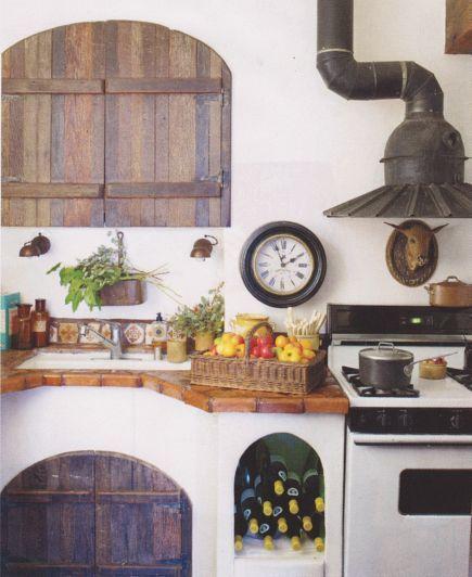 Dan marty interior decorating designer dan marty for Italian kitchen hood