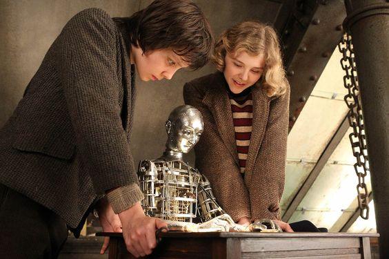 La invención de Hugo, Scorsese 2011. Preciosa película que es un homenaje a George Meliés, pionero del cine. 11 nominaciones al Oscar y 5 estatuillas.