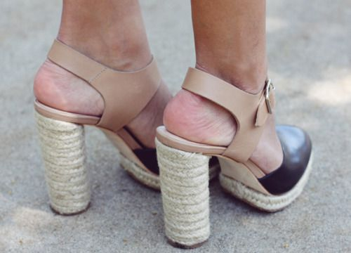 espadrilles made a little more funky!