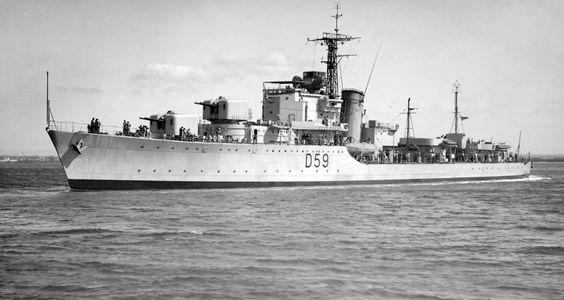 HMAS ANZAC D59 1951-1974
