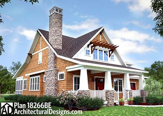 Craftsman bungalows and screened porches on pinterest for Craftsman style screened porch