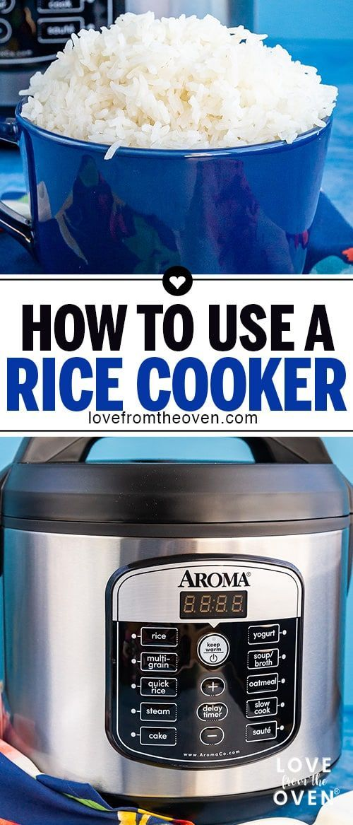 How To Use A Rice Cooker Aroma Rice Cooker Rice Cooker Recipes Best Rice Cooker