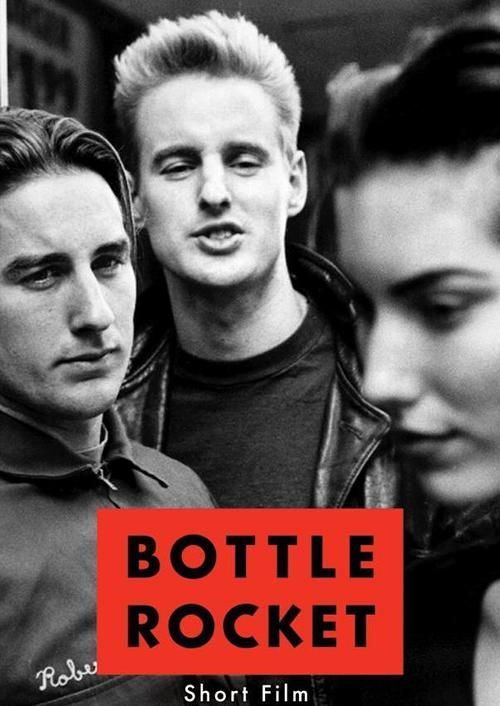 Bottle Rocket poster with very young Wilson Brothers ...