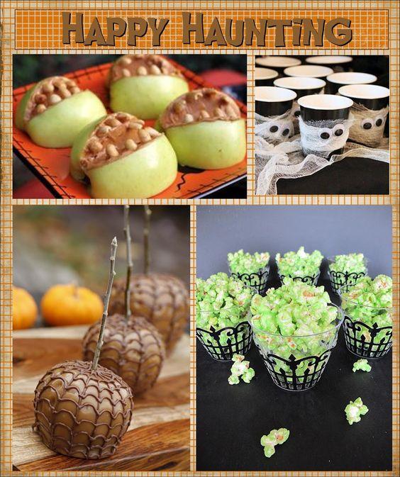 25 Halloween Treat/Dessert Ideas for School & Home Parties