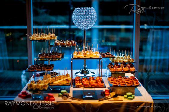Wedding Snack Table Decoration Design | snack bar ideas ...