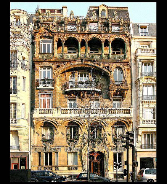 Jules lavirotte paris 29 avenue rapp 1901 la fa ade for Architecture 21eme siecle