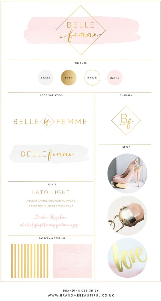 www.brandmebeautiful.co.uk  Beautiful premade logo & branding kit available to purchase in the store!