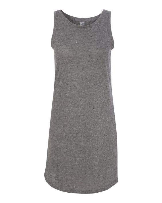 2828 Alternative - Women's Eco Nep Jersey Nautical Tank Dress