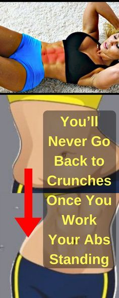 You'll Never Go Back to Crunches Once You Work Your Abs Standing