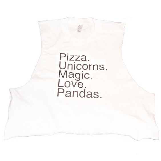Pizza Unicorns - Muscle Tee by whocaresnyc?