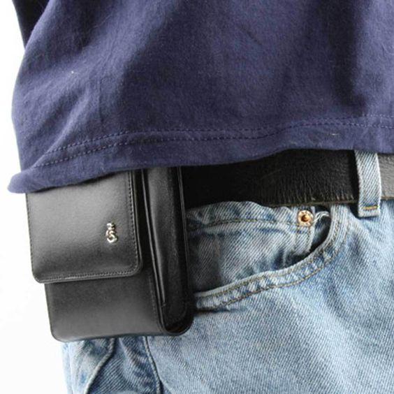 So discrete!  M&P 9c Sneaky Pete Holster (Belt Clip) - SneakyPete