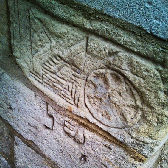 Inkervingen mergel / Carvings marl - Pietersheim - Lanaken