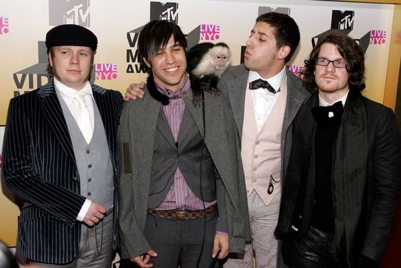 """2006 - The """"Who Gave Pete Wentz A Monkey"""" Cabbie Hat 