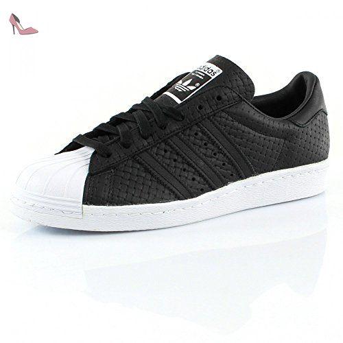 Adidas Superstar 80's Woven Homme Baskets Mode Noir - Noir - 46 EU uT9AxBR
