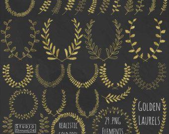 Imágenes Prediseñadas de la corona de laurel y por StudioDenmark