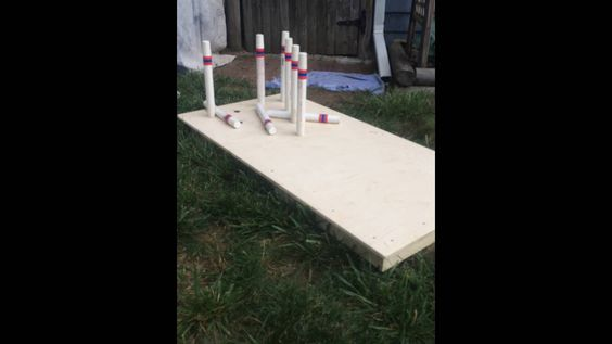 Prototype backyard bowling