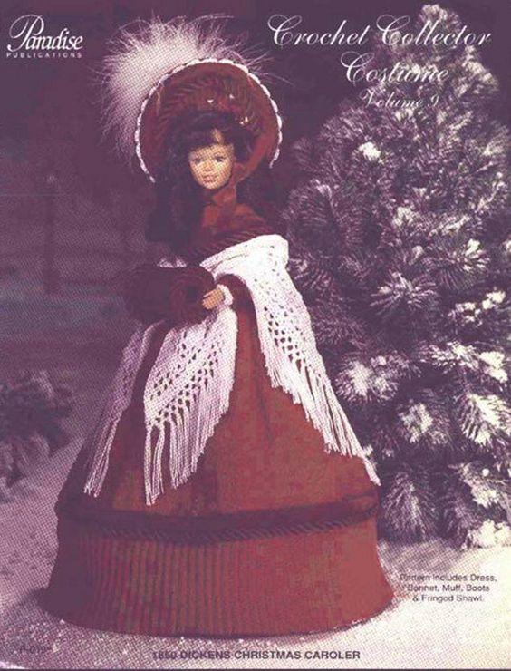 22. Barbie fashion doll dress crochet pattern in pdf by Vandihand