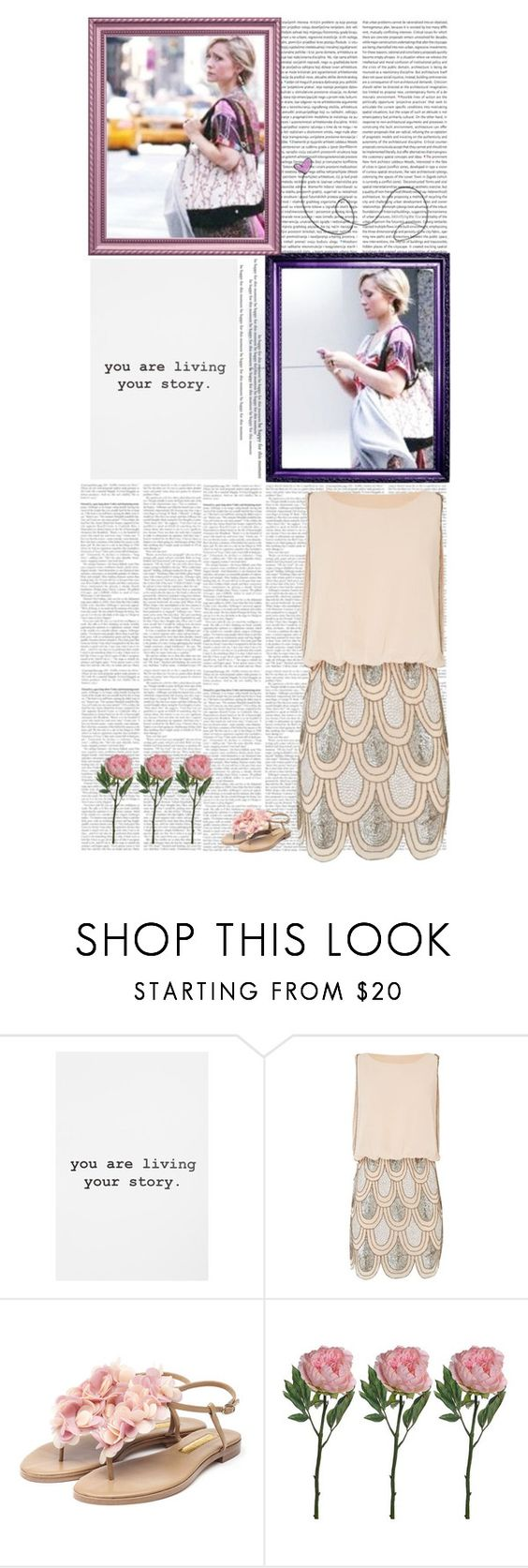 """""""Allison Mack"""" by followyourbliss ❤ liked on Polyvore featuring Urban Outfitters, Lace & Beads and Rupert Sanderson"""