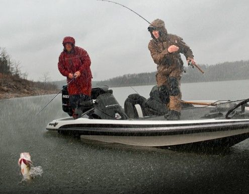 20 tips for foul-weather fishing | Bassmaster