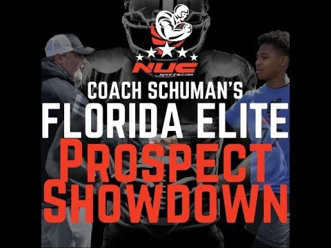 Coach Schuman S Nuc Florida Elite Football Prospect Camp