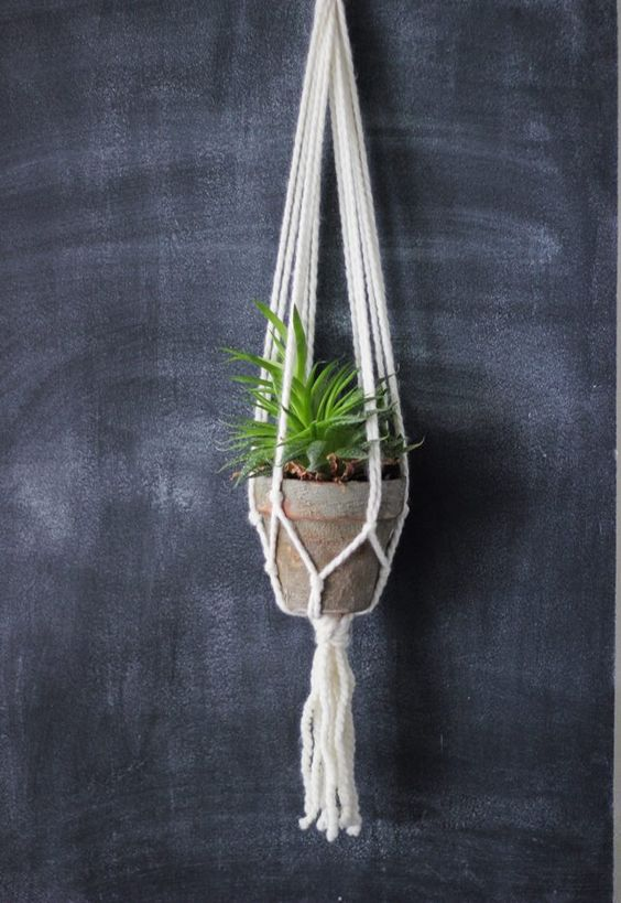 Macrame Macrame Plant Hangers And Plant Hangers On Pinterest