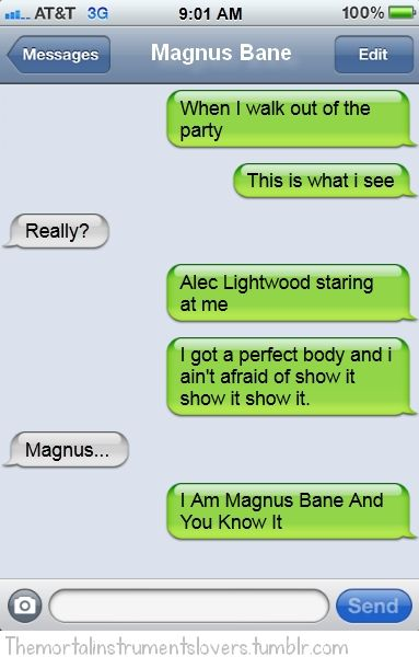 Mortal Instruments Funny Quotes Doblelol - Quoteko.com