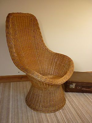 VINTAGE CANE CHAIR  / 1970''S