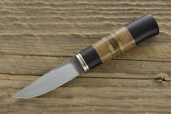 Ebony, Whale Bone Puukko - SPAKE KNIFE