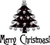 Myxer - Wacked Wallpapers - Christmas skull tree - Wallpaper