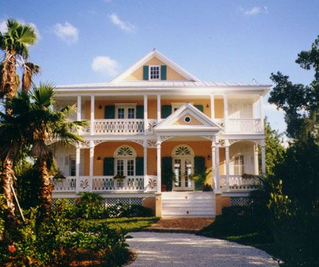 Caribbean house plans with porches