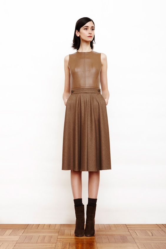 Akris Pre-Fall 2011 Fashion Show - Cecilia Mendez