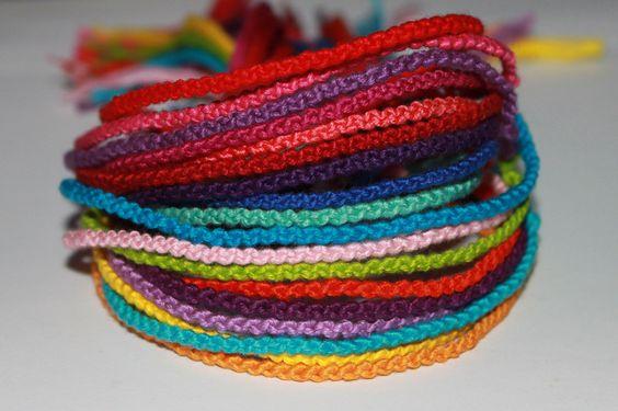 Made To Order Set of 3 Friendship Bracelets