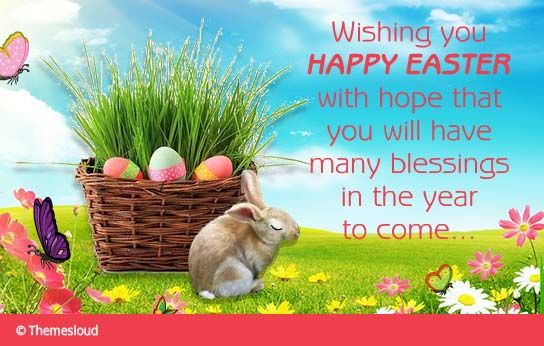 Say Happy Easter With This Adorable Ecard To Your Loved Ones Easter Wishes Video 123greetings Easter Wishes Happy Easter Holiday Wishes